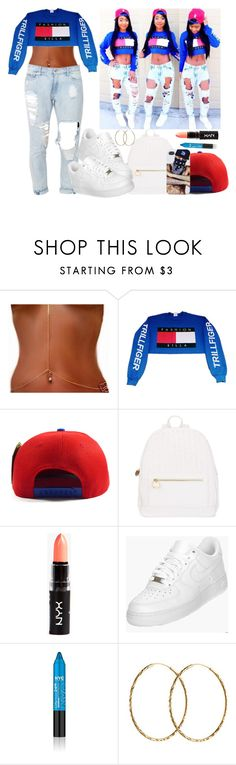 """""""Don't Chase them Replace them"""" by diane-corporan ❤ liked on Polyvore featuring Deux Lux, NIKE and Pernille Corydon"""