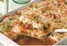Mexicaanse gehaktschotel - Vol Smaak Dutch Recipes, Cooking Recipes, Healthy Recipes, Casserole Dishes, Casserole Recipes, Easy Vegetable Stir Fry, One Dish Dinners, Good Food, Yummy Food