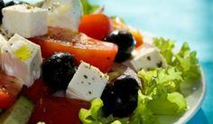 Ҳориатики – салати юнонии тарзи деҳотӣ #дастурамал