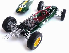 Tamiya's 1/20 scale Lotus 25 Formula One Racer.