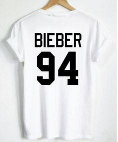 Resultado de imagen para camisas de justin bieber