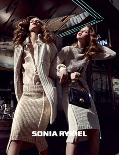 Knitted Pencil skirts by Sonia Rykiel