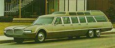 1969 Olds Toronado AQC 707 Limousine