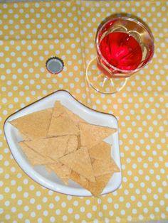 Tortillas mais chips al forno