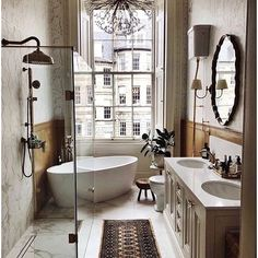 home decor classy Bathroom Inspiration via classy.gentleman Bathroom Inspiration via classy.gentleman Bathroom Inspiration via classy.gentleman Bathroom Inspiration via classy. Modern Home Interior Design, Dream Home Design, House Design, Loft Design, Bad Inspiration, Bathroom Inspiration, Bathroom Ideas, Bathroom Goals, Budget Bathroom