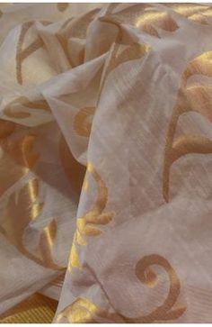 Pastel Handloom Chanderi Cotton Silk Saree Chanderi Silk Saree, Pure Silk Sarees, Saree Shopping, Red Saree, Silk Sarees Online, Saree Styles, How To Look Classy, Saree Collection, Saree Wedding