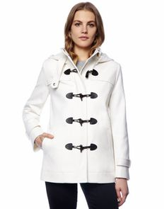 MICHAEL Michael Kors  Hooded Toggle Coat.