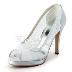 BRIDE SHOES | ... -Dyeable-Sparkling-Lace-Peep-Toe-High-Heel-Bridal-Wedding-Shoes_1.jpg