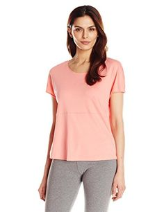 Hanro Women's Rosa Short Sleeve Top ** Find out more about the great product at the image link. Lingerie Party, Long Pants, Perfect Match, Women Lingerie, Feels, Image Link, Silhouette, Sleeve, Casual