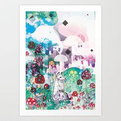 Wonder World Art Print by Jo Cheung Illustration - $15.08