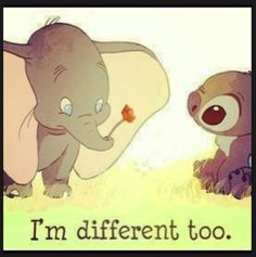 Dumbo and Stitch. #disney