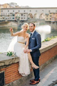 Romantic Destination Wedding in Florence: http://www.stylemepretty.com/destination-weddings/2015/10/13/romantic-destination-wedding-in-florence/   Photography: M and J Photos - http://www.mandjphotos.com/