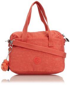 Kipling Womens Amiel Handbag Pink Coral Kipling to enter online ...