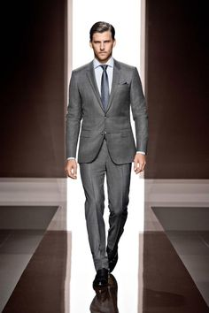 Boss fall 2013 grey suit