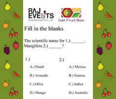 Here is the last question of the The Last Question, This Or That Questions, Health Quiz, Fruit Box, Mexica, Healthy Fruits, Healthy Lifestyle, Avocado, Healthy Living