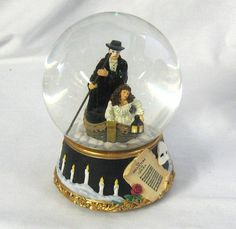 The Phantom of the Opera Journey to the Lair  Music Box Water Globe on Etsy, $45.00
