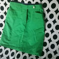 Green Pencil Skirt! Tommy Hilfiger. Great for a pop of color in the spring! Tommy Hilfiger Skirts Pencil