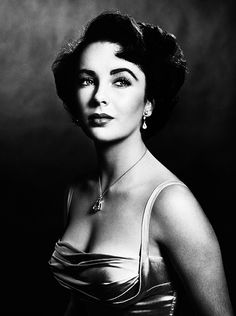 Elizabeth Taylor age 16, photographed by Philippe Halsman for Life Magazine, 1948