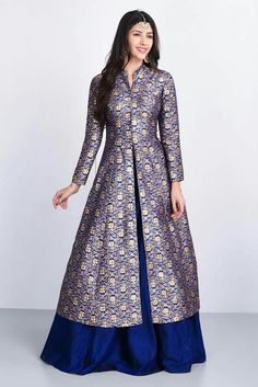 Order contact my whatsapp number 7874133176 Indian Gowns Dresses, Pakistani Dresses, Indian Attire, Indian Outfits, Indian Designer Outfits, Designer Dresses, Saree Dress, Mode Hijab, Dress Patterns