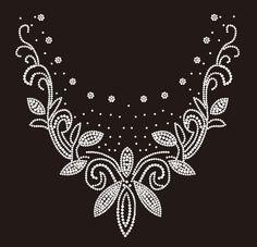 Nickline/Flowers & Swirls Available from blingbig.com www.facebook/blingbig/