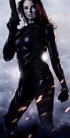Scarlett (Rachel Nichols) from G.I. Joe - The Rise Of Cobra.