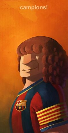 """Carles """"The Captain"""" Puyol Best Football Players, Soccer Players, Football Soccer, Soccer Art, Soccer Boys, Fc Barcelona, Football Pictures, Neymar, Messi"""