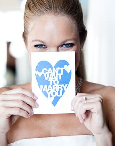 love note for your fiance on your wedding morning. so sweet.