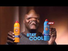 Fantastica: The version of Shaq's Gold Bond Powder commercial where his face takes a psychedelic trip is the bestversion