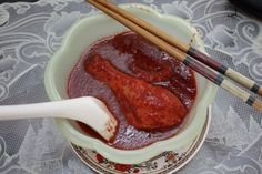 Foochow Ang Chow Mee Sua Red Wine Chicken, Go With Me, Rice Wine, Chow Chow, Slow Cooker Recipes, Tapas, Noodles, Nom Nom, Pork