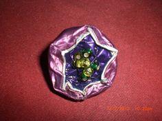 Bague Fuchsia & violette