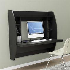 Prepac Furniture HW-0200-1 Floating Desk with Storage