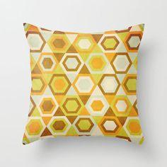 Kaleidoscope Pillow Cover   dotandbo.com #DotandBoAutumn