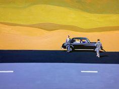 "Highlands  30""x40""  Oil on Canvas  2016"