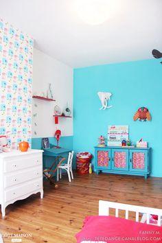 Une chambre d'enfant ultra colorée !