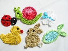 crochet applique - Pesquisa Google