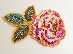 beads and sequins embroidery