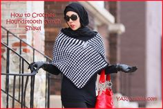 In this video, I demonstrate how to make the Houndstooth Stitch Shawl. It is actually a very simple pattern that makes it seem like you worked tirelessly to ...