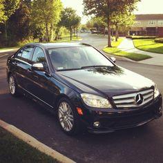 Mercedes Benz C300...I look fabulous in my little car!