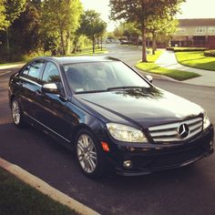 Mercedes Benz C300...I look fabulous in my little car!