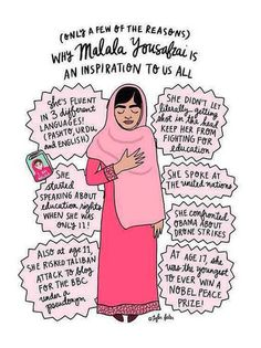 More role models like Malala