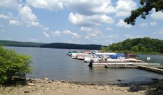 Take flight from Lake Wallenpaupack on a parasailing adventure. The 13-mile lake boasts 52 miles of shoreline for plenty of room to cruise around.
