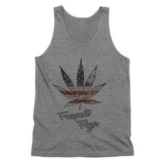 Weed Leaf American Frequent Flyer Tank Top  American Weed Tank Top    420, smoke weed, stoner clothes, hippuy fashion, festival clothes, marijuana shirt, pot leaf, girls who smoke,    This must-have unisex tank is updated with a modern fit, featuring a rounded neck and designed with superior combed and ring-spun cotton. Unisex sizing.    White - 100% combed and ring-spun cotton.  Tri Blend - 50% poly 25% combed and ring-spun cotton and 25% rayon