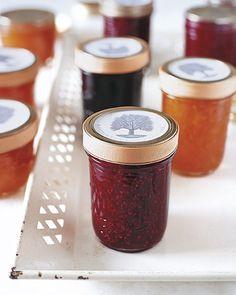 To make labels for your jams, just download and print.Get the recipes:Blackberry-Bay Leaf JamApricot-Sauternes JamRaspberry-Orange Zest Jam
