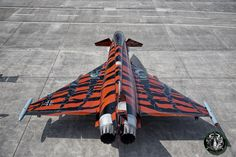 The Aviationist » Eurofighter Typhoon in new, special Tiger Livery is freaking awesome