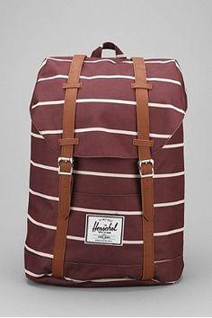 1490dd70bdfc Herschel Supply Co. Retreat Rust Stripe Backpack Buy Striped Backpack,  Striped Canvas, Herschel