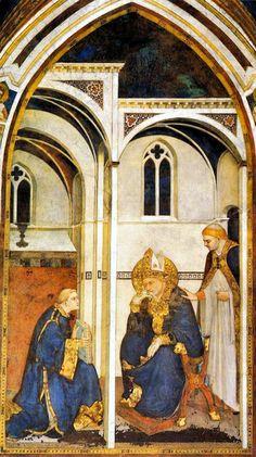 Simone Martini, 10 affreschi della Cappella di San Martino (Assisi) | Tanogabo