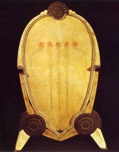 Carlo Bugatti, Cheval Glass, c.1902