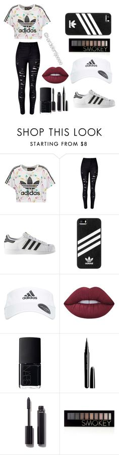 """Baby, I like your style."" by kardelentjeeee ❤ liked on Polyvore featuring adidas Originals, WithChic, adidas, Lime Crime, NARS Cosmetics, Marc Jacobs, Chanel and Forever 21"