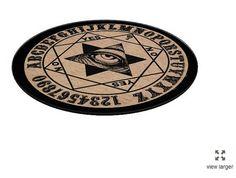 Mystic Eye Ouija Cutting Board by StuffoftheDead on Etsy