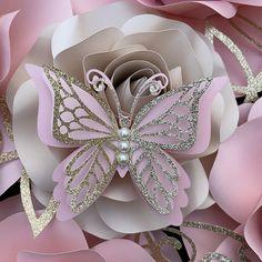 Origami Tutorial, Diy Tutorial, Cute Galaxy Wallpaper, Butterfly Wallpaper, Paper Backdrop, Flower Backdrop, Butterfly Crafts, Butterfly Art, Paper Butterflies